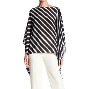 Vince Camuto Sheer Poncho Top